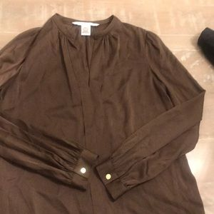 Silk blouse by DVF